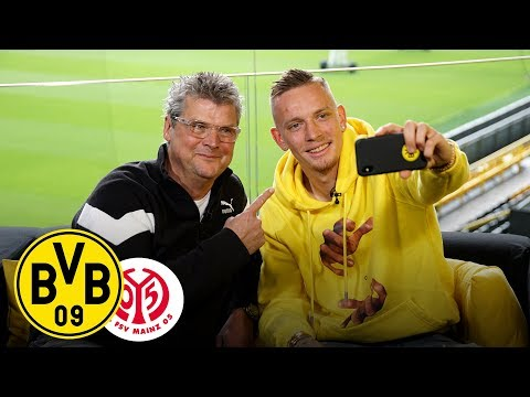 From Winger to Right-Back | Marius Wolf joins Matchday Magazine | BVB - 1. FSV Mainz 05