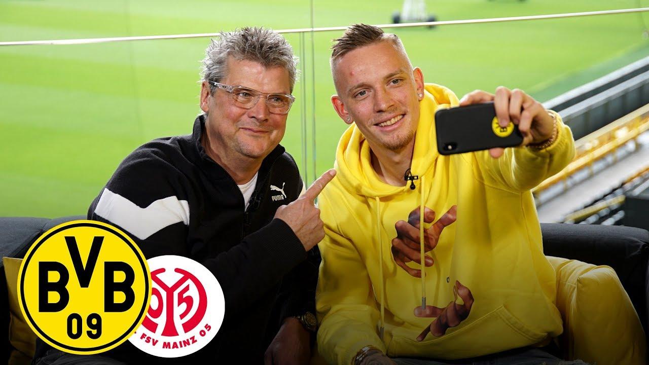 Vom Flügelspieler zum Rechtsverteidiger   Marius Wolf im Feiertagsmagazin   BVB - 1. FSV Mainz 05