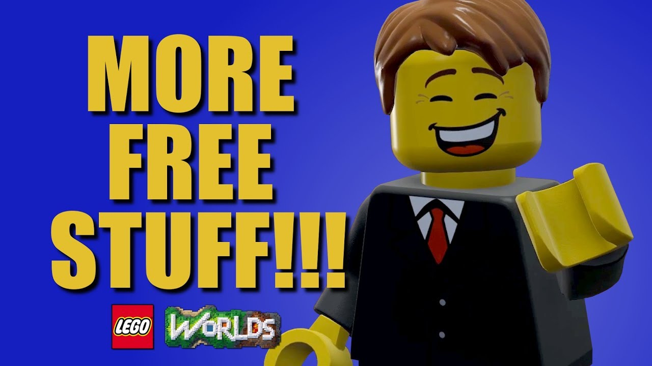 FINAL FREE STUFF FOR LEGO WORLDS!