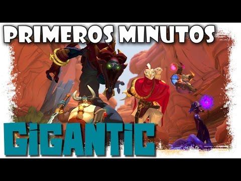 Gigantic Gameplay Español | Primeros Minutos | MOBA Pc y Xone