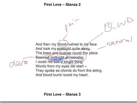 First Love by John Clare analysis