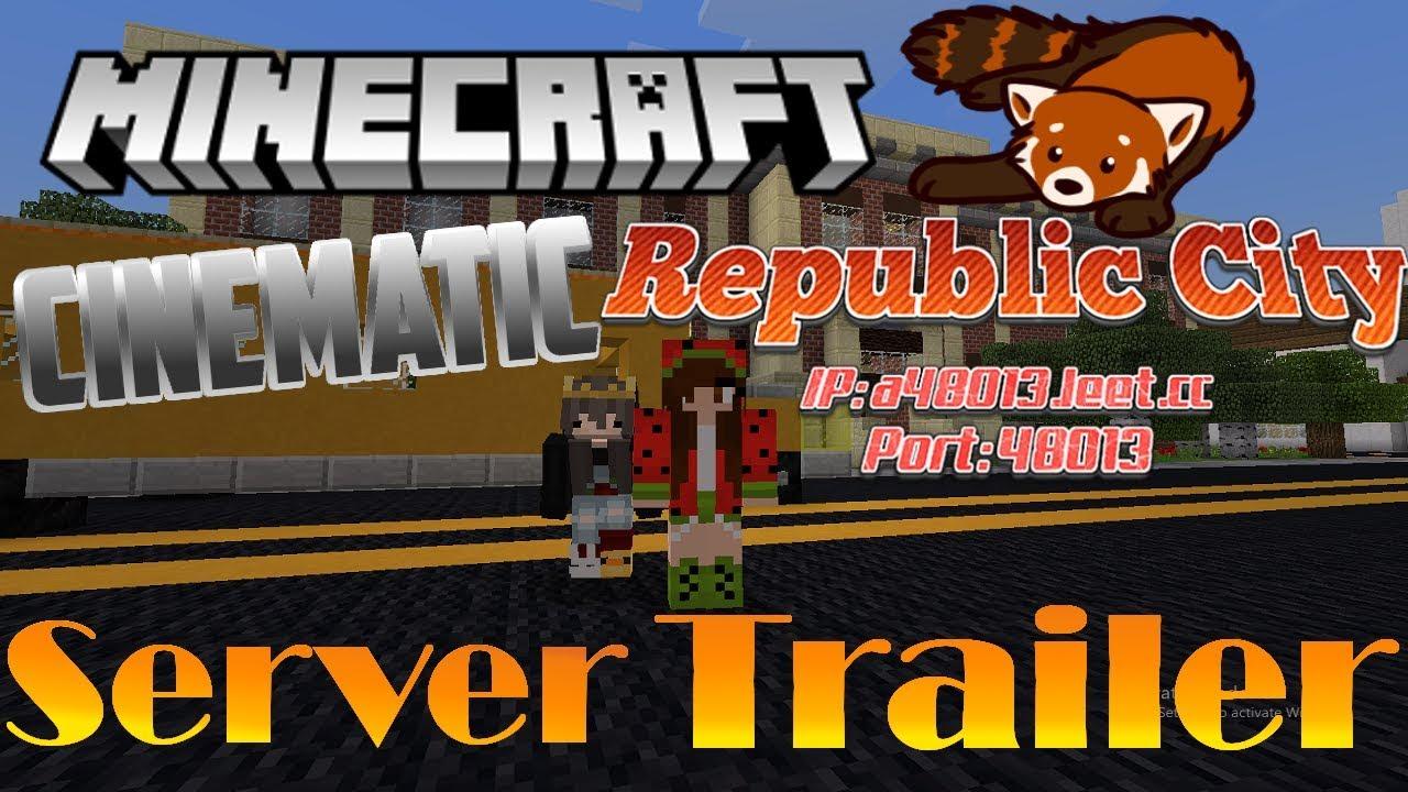 Minecraft Republic City-Server Trailer