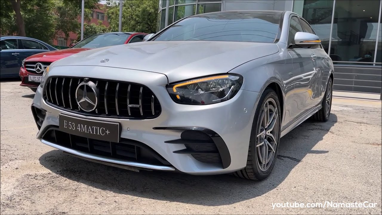 Mercedes-AMG E53 4Matic+ 2021- ₹1 crore | Real-life review
