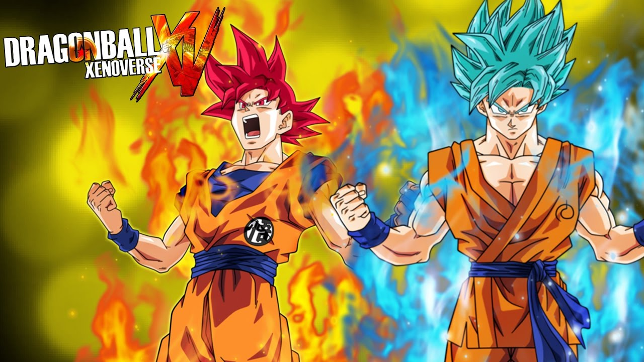 Goku Super Sayayin Dios Azul Para Colorear: GOKU SSJ DIOS ROJO O DIOS AZUL ¿?