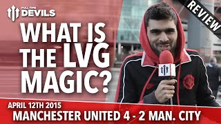 Confidence, Arrogance, Swagger! | Manchester United 4 Manchester City 2 | REVIEW