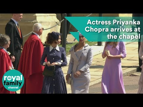 Royal Wedding: Priyanka Chopra arrives at the chapel