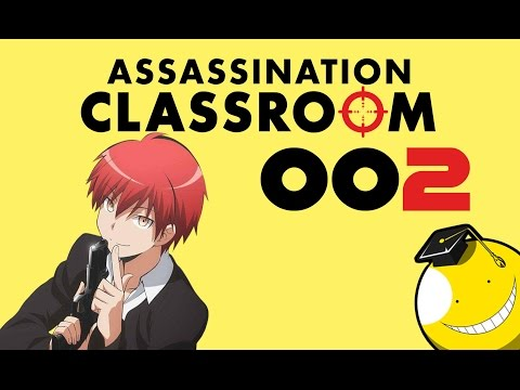 Lets Draw Karma Akabane (Assassination Classroom) #002
