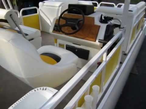 Veada Flagship Pontoon Boat Seats Boat Seating Restoration Youtube