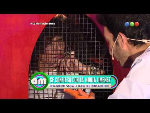 Juan Minujín se confiesa con la Monja Jiménez, parte 3 - AM