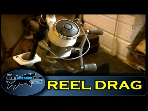 How to set a fishing reel drag - Totally Awesome Fishing