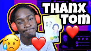 "HIT HOME WITH THIS ONE💔|Tom MacDonald - ""Cancer""(REACTION!!!)"