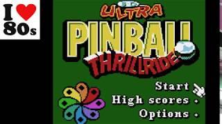 3D Ultra Pinball Thrillride: Hard  (Game Boy Color...emu) 565.926