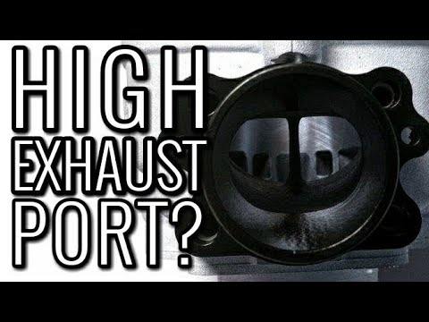 HIGHER EXHAUST PORT, GOOD IDEA? How Exhaust Port Timing Affects Two Stroke Performance.