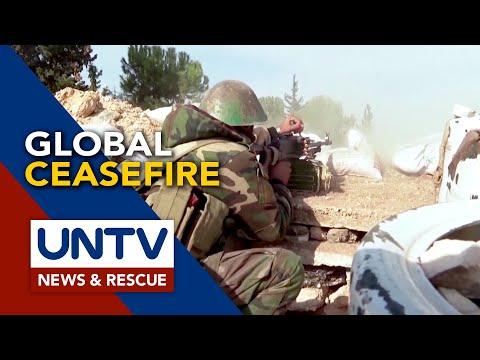 UN, nanawagan ng global ceasefire upang matutukan ng buong mundo ang paglaban sa COVID-19