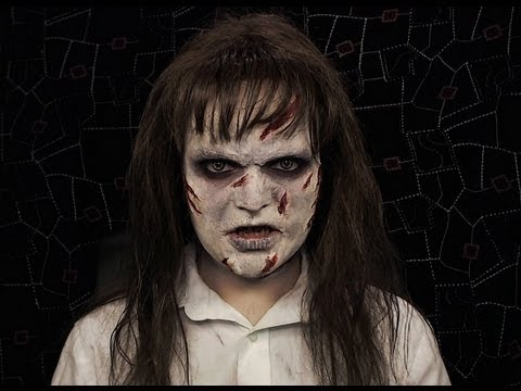 Amazing The Exorcist   Makeup Tutorial!