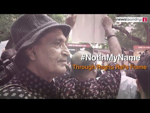 #NotInMyName: Through Raghu Rai's Lens
