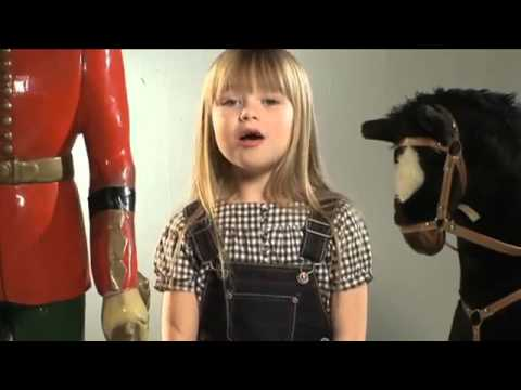 Amira Willighagen and Connie Talbot  - I Have A Dream