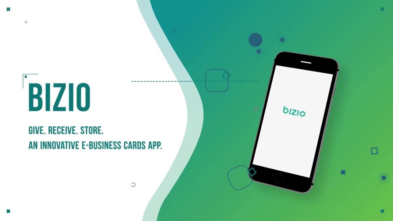 Bizio an innovative e business card app sphinx solution youtube bizio an innovative e business card app sphinx solution colourmoves