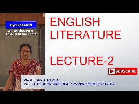 ENGLISH LANGUAGE   LECTURE-2   PROF.DHRITI BARUA   Gymkhana TV   IEM