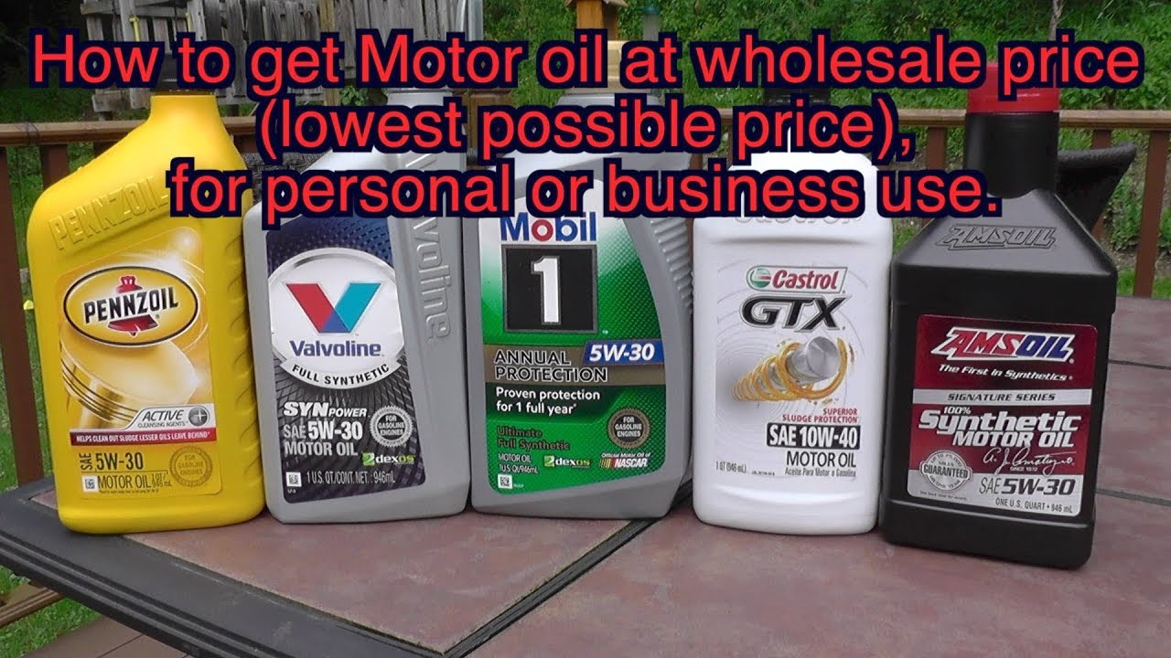 Amsoil Motor Oil at wholesale price for personal or business use  how to  become Amsoil dealer
