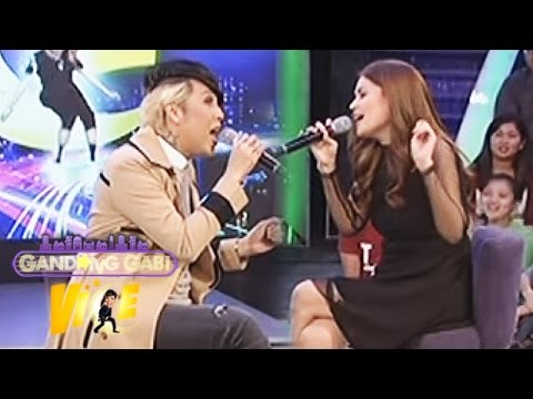 GGV: Donna Cruz and Vice Ganda sing