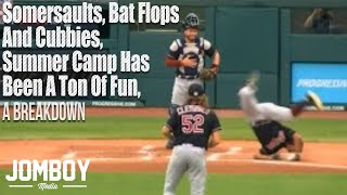Somersaults, Bat Flops and Clubbies, Summer Camp has been a ton of fun, a breakdown