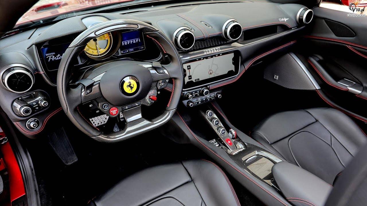Ferrari Portofino Inside