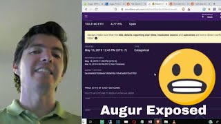 Augur Exposed - Trolls Control the #39 Biggest Cryptocurrency