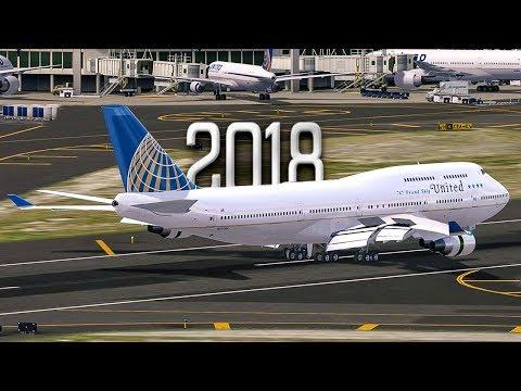 New Flight Simulator 2018 | Last Ever Boeing 747 Flight - P3D 4.1 [Amazing Realism]