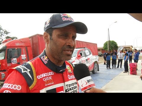 Nasser Al-Attiyah: es fantástico que Dakar sea solo en el Perú