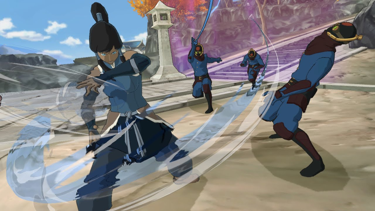 THE LEGEND OF KORRA | PlatinumGames Inc. Official WebSite