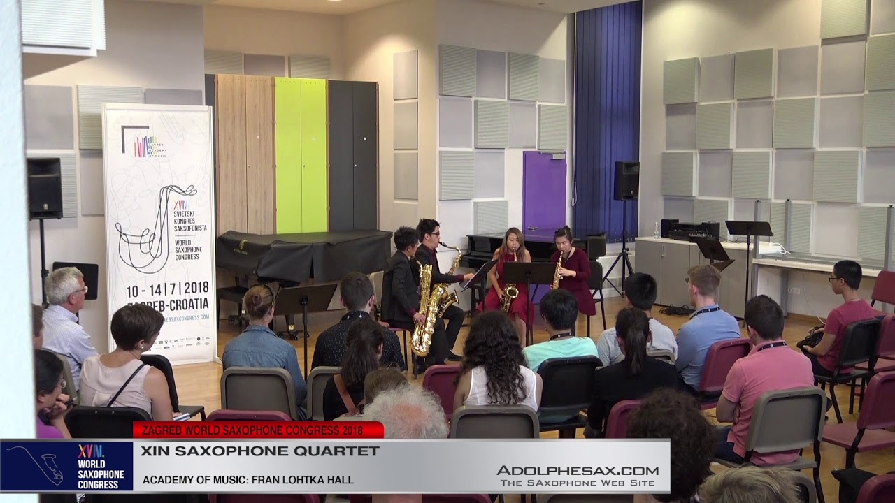 The Serpent by Alexander Oon   Xin Saxophone Quartet   XVIII World Sax Congress 2018 #adolphesax