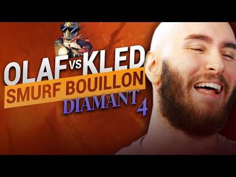 Vidéo d'Alderiate : [FR] ALDERIATE & AKABANE - SMURFING BOUILLON - OLAF VS KLED - ANNIHILER UN MATCH UP NÉGATIF