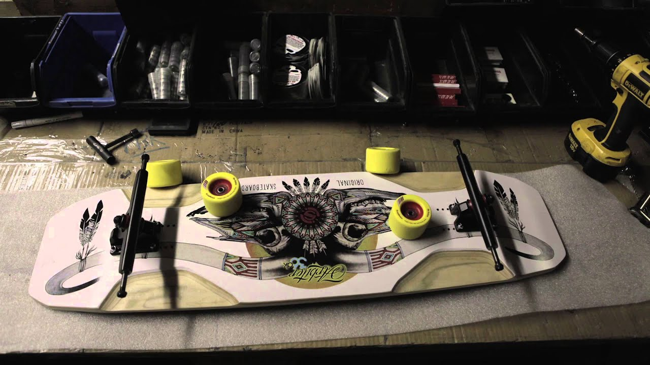 Efterstræbte Arbiter DK Custom Build Longboard Skateboard - YouTube IR-73