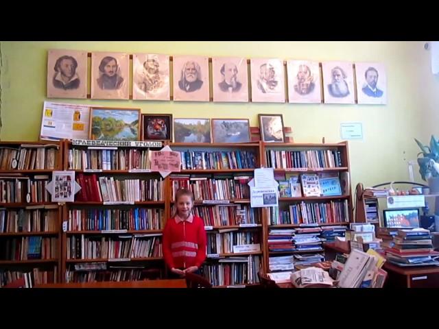 Изображение предпросмотра прочтения – ВиолеттаСуслопарова читает произведение «Весна, весна! как воздух чист!..» Е.А.Баратынского