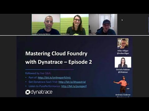 Mastering Cloud Foundry with Dynatrace - Episode 2