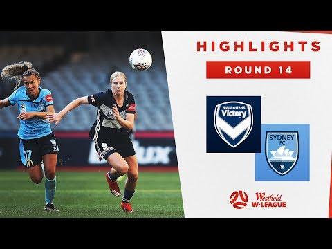 Highlights: Melbourne Victory V Sydney FC – Round 14 Westfield W-League 2019/20 Season