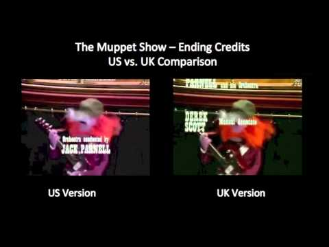 The Muppet Show - Ending with Cleo Laine (US vs. UK Credit Comparison)