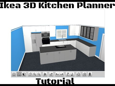 Ikea 3D Kitchen Planner Tutorial 2015 - Sektion - YouTube
