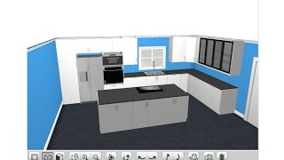 Ikea 3D Kitchen Planner Tutorial 2015 - Sektion