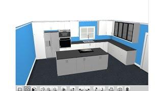 Ikea 3D Kitchen Planner Tutorial 2015 - Sektion