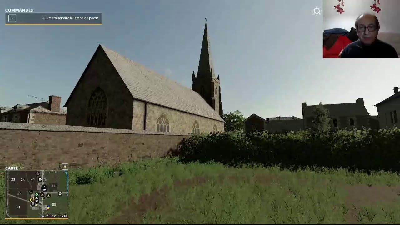 Farming Simulator 19 / Présentation de la Map Champ de France V2/ By Coco Rico Modding