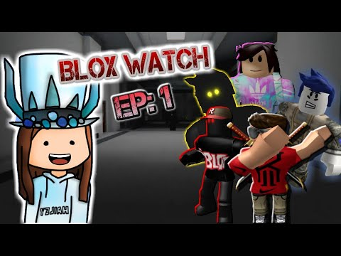 REACTION TO BLOX WATCH!?!   (A Roblox Horror Movie)