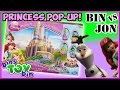Bin Vs. Jon - Disney Princess Pop Up Magic Castle and Frozen Game! | Bin's Toy Bin