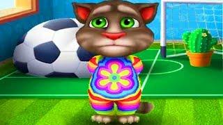 МОЙ ГОВОРЯЩИЙ ТОМ 🐱🐱🐱 - ТОМ Спортсмен Виртуальный КОТ- развлекательное видео для детей