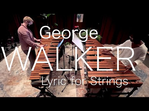 GEORGE WALKER // Lyric for Strings // feat. Patrick McCaffrey