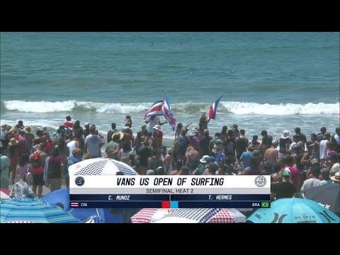 Vans US Open of Surfing: Semifinal, Heat 2