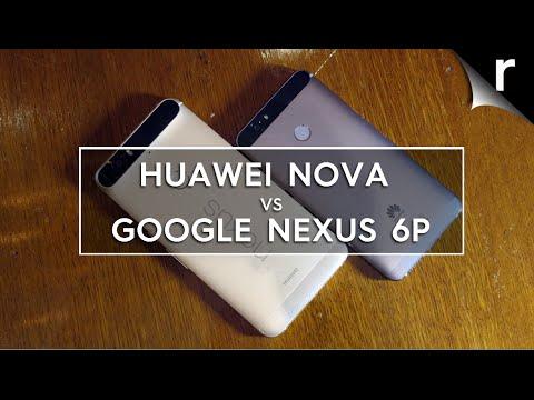 Huawei Nova vs Google Nexus 6P
