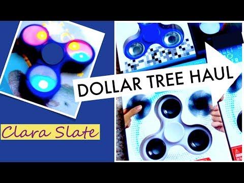 ♥︎ DOLLAR TREE HAUL ♥︎ LIGHT UP FIDGET SPINNERS!