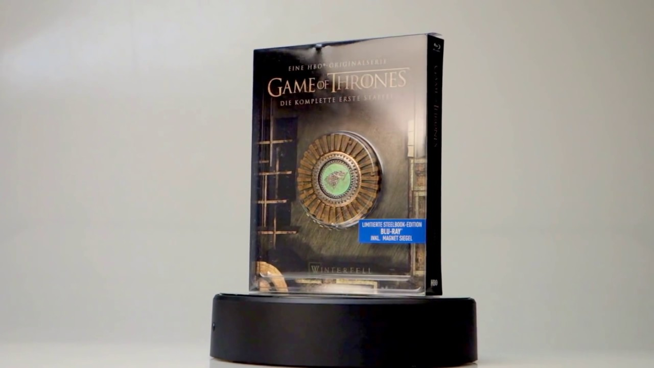 Best Unboxing Game Of Thrones Steelbook Season 1 2 Blu Ray Inkl Magnet Siegel Video